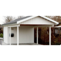 Hvid garage
