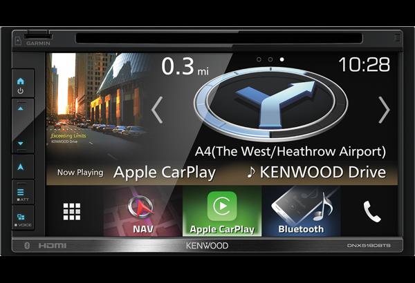 Kenwood DNX5180BTS 6