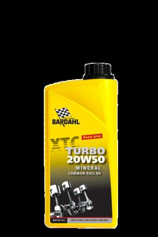 Bardahl Motorolie - XTC 20W/50 Turbo 1 ltr Olie & Kemi > Motorolie