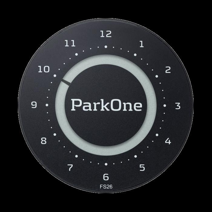 ParkOne 2 Carbon Black Indvendig tilbehør > Parkeringsure