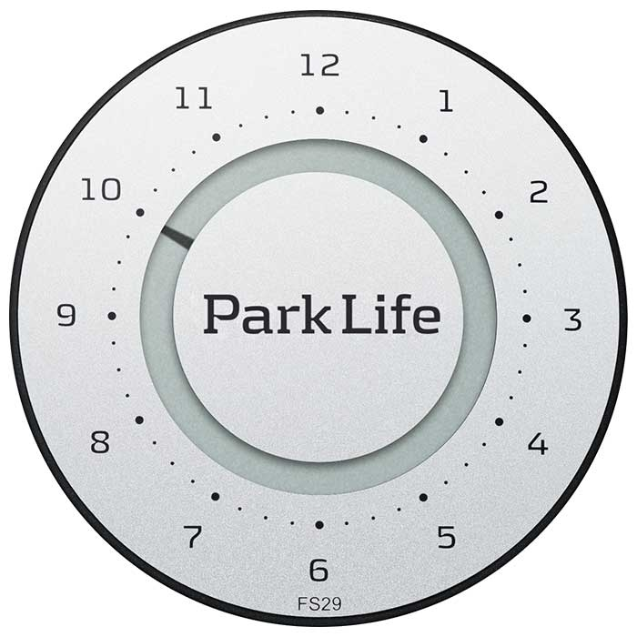 ParkLife Carbon Silver Indvendig tilbehør > Parkeringsure