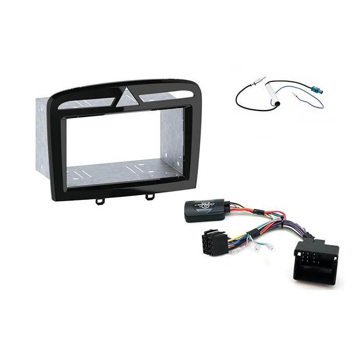 CTKPE05 2-DIN komplet kit til Peugeot 308 Bilstereo > Monteringssæt