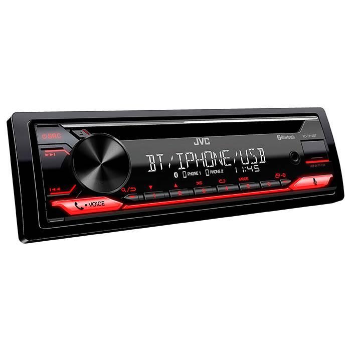 JVC autoradio KD-T812BT CD / RDS turner m. Bluetooth Bilstereo
