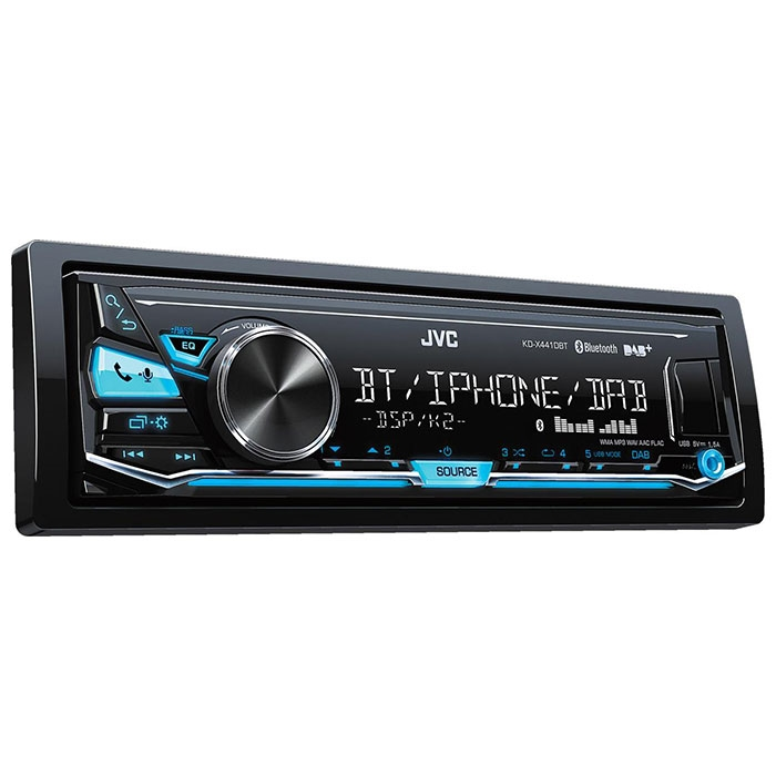 JVC autoradio KDX441DBT RDS turner DAB+ Bilstereo