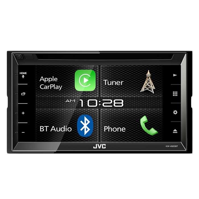 JVC autoradio KWV820BTE 2 DIN CD / RDS turner m. Bluetooth Bilstereo