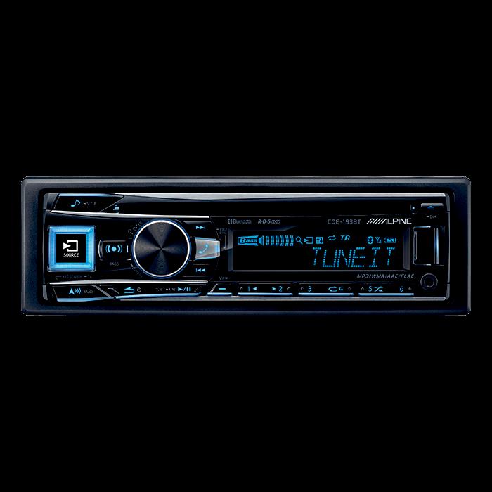Alpine CDE-193BT CD/Tuner med USB & Ipod Bluethooth Bilstereo