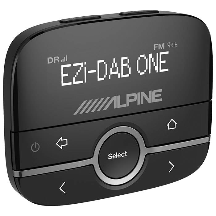 Alpine EZIDABONE digital radio m. DAB+ Turner Bilstereo