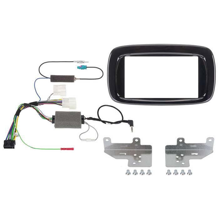 Alpine KITW997SMTB monterings kit f. SMART 453 til INEW997D sort Bilstereo > Monteringssæt