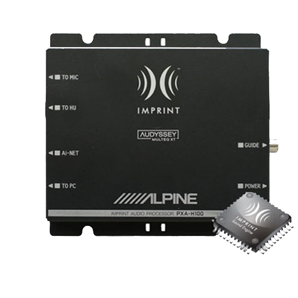 Alpine PXAH100 Imprint lydprocessor Bilstereo
