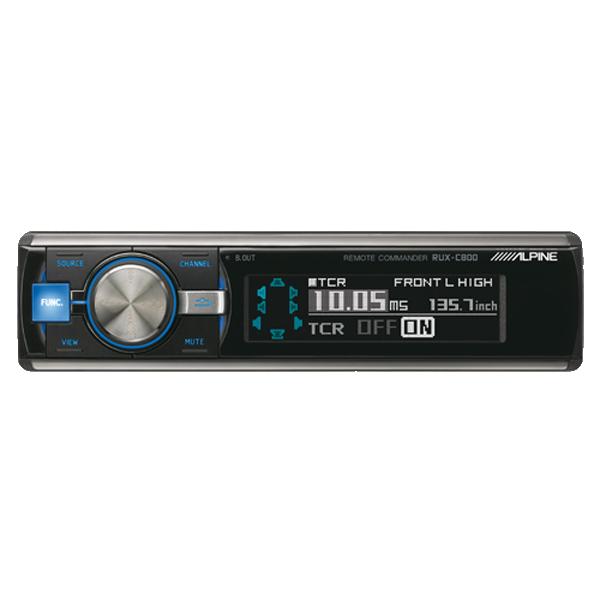 Alpine RUX-C800 Styreenhed til PXA-H800 Bilstereo > EQ / Processorer