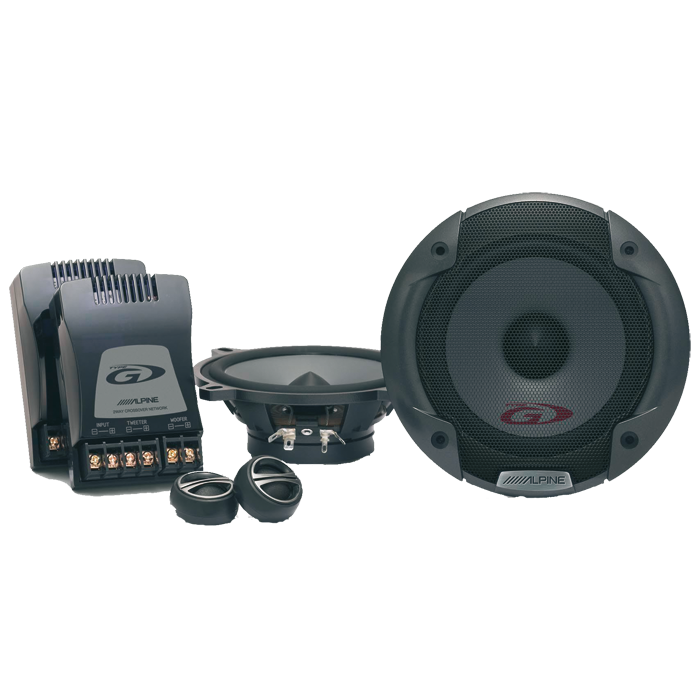 Alpine SPG-13CS 13 cm Komponent Højttalersystem Bilstereo > Højttalere > Alpine > Højttalere G-Serie