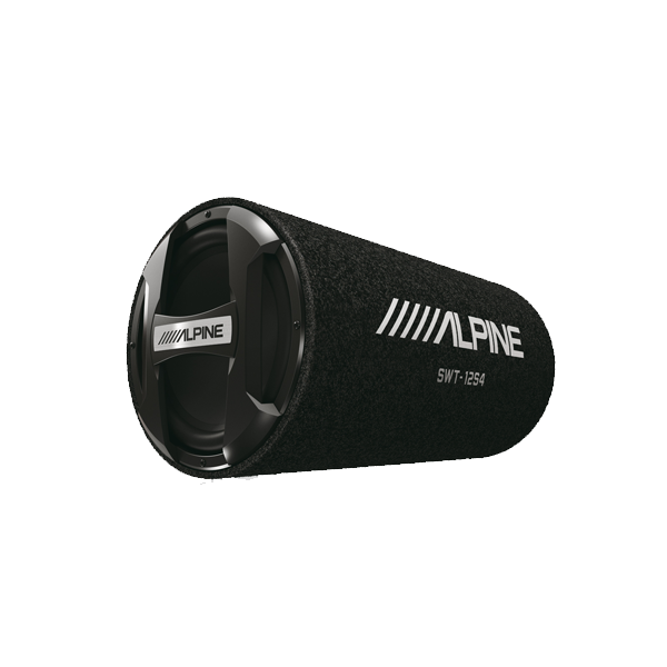 """Alpine SWT-12S4 12"""" Subwoofer Tube Bilstereo > Subwoofere > Alpine > Passive Subwoofer systemer"""