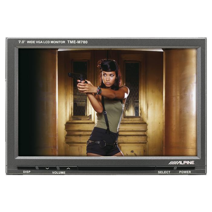 """Alpine TME-M780EM 7"""" Slave Monitorskærm Bilstereo > Multimedie > Monitorskærme"""