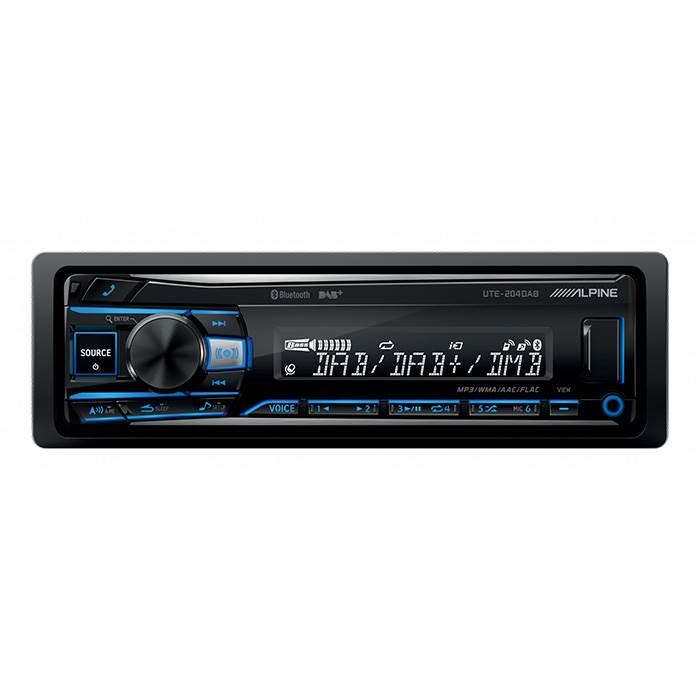 Alpine UTE-204DAB Turner/Ipod Bluetooth & DAB Bilstereo > DAB radioer