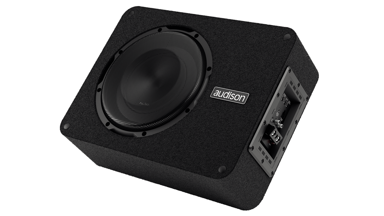 "Audison APBX10AS aktiv 10"" Subwoofer 400 watt Bilstereo > Subwoofere"