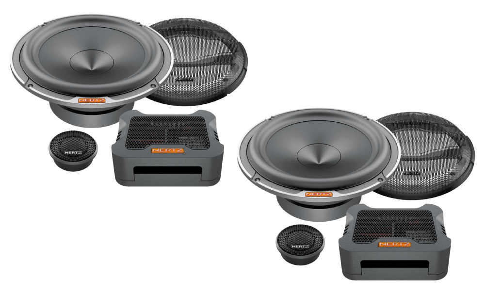 Hertz MPK165P.3 Mille professionel komponent højtalersystem Bilstereo