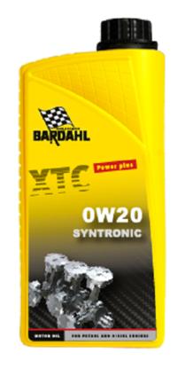 Bardahl Motorolie - XTC 0W20 Syntronic 1 ltr Olie & Kemi > Motorolie