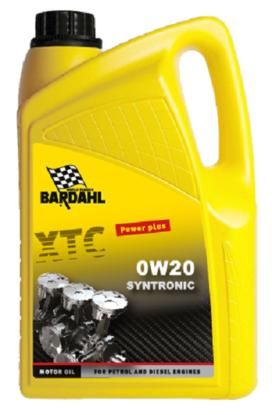 Bardahl Motorolie - XTC 0W20 Syntronic LL 5 ltr. Olie & Kemi > Motorolie