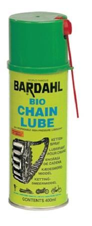 Bardahl Kædespray Bio (Bio Chain Lube) 400 ml. Olie & Kemi > Smøremidler