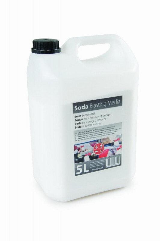 Sodapulver 5kg til Sodablæsning - lev. i 5L dunk Sodablæsere & tilbehør