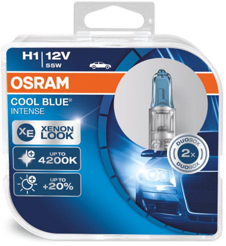Osram H1 Cool Blue Intense pærer sæt (2 stk) pakke Osram Cool Blue Intense