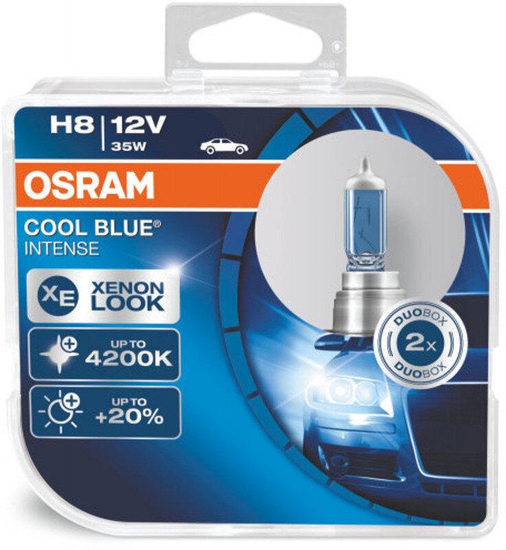 Osram H8 Cool Blue Intense pærer sæt (2 stk) pakke Osram Cool Blue Intense