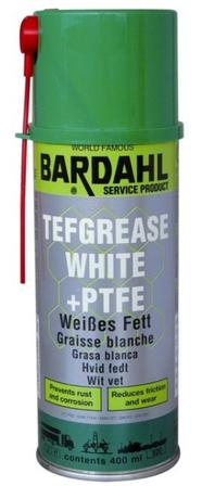 Bardahl Hvid fedt med Teflon 400 ml. Olie & Kemi > Smøremidler