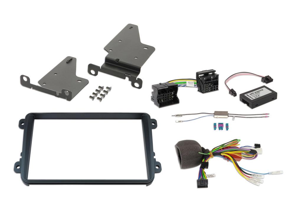 """Alpine KIT8VWTX300 2-DIN 8"""" Kit f. VW (MIB-PQ platform/GolfVI"""
