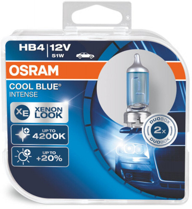 Osram HB4 Cool Blue Intense pærer sæt (2 stk.) pakke Osram Cool Blue Intense