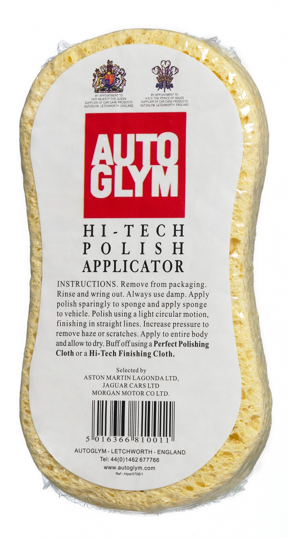 Autoglym Påføringssvamp - Hi-Tech Polish Applicator Bilpleje > Autoglym > Tilbehør