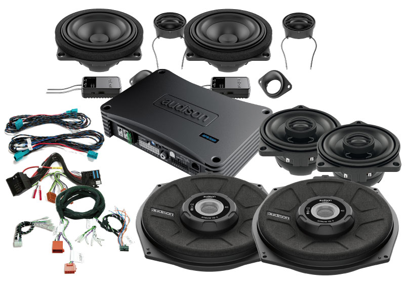 Audison SoundPack til BMW 1 serie bl.a. Bilstereo