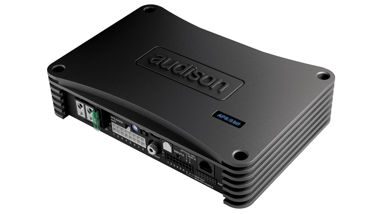 Audison Prima 8 kanals Forstærker med Sound processor Bilstereo > Forstærkere > Audison > Prima-Serie