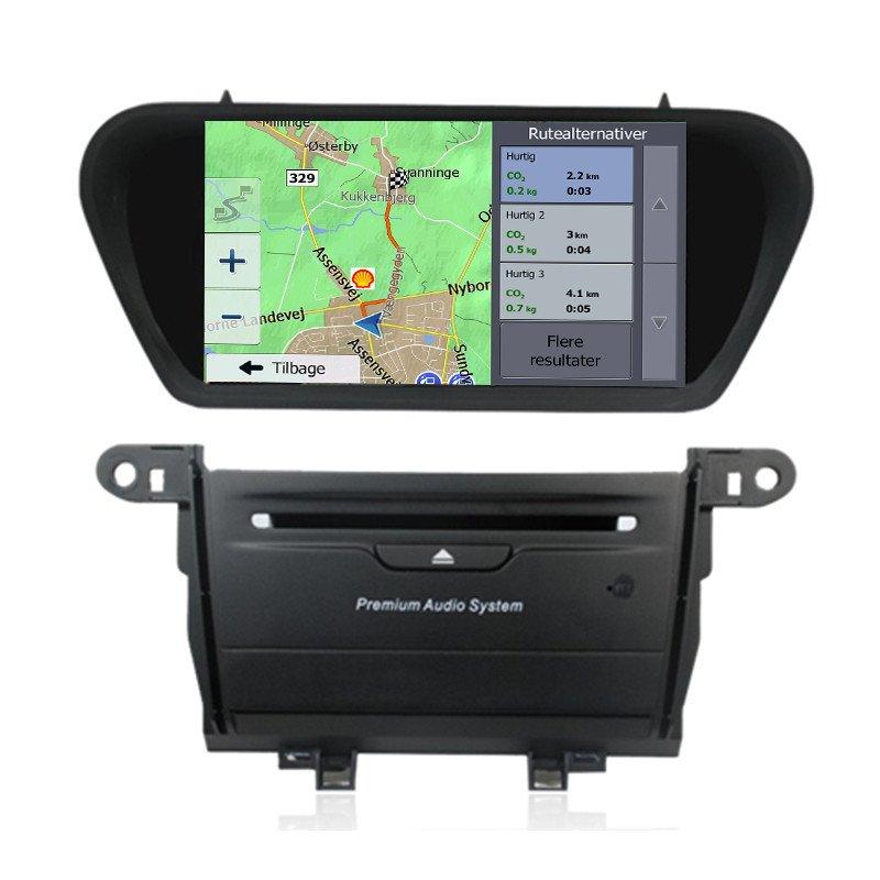 Honda Accord EU Navigation Bilstereo > Navigation > Honda