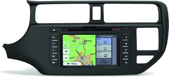 Kia Rio Navigation Bilstereo > Navigation > Kia