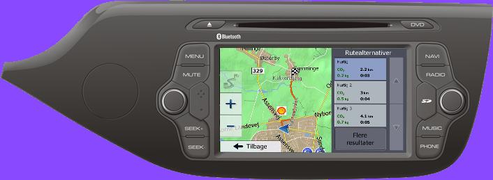 Kia Ceed Navigation Bilstereo > Navigation > Kia