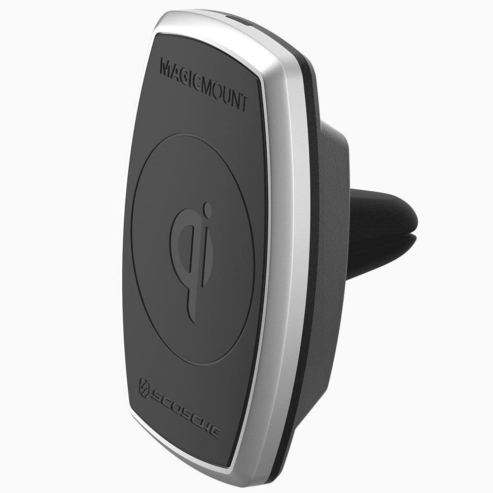 Scosche magicMOUNT Qi 10W Trådløs Opladning - til luftdyse Indvendig tilbehør > Mobil tilbehør