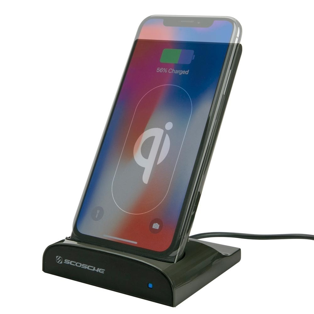 Scosche Qi Dock og Powerbank 5000 mAh - Sort Indvendig tilbehør > Mobil tilbehør