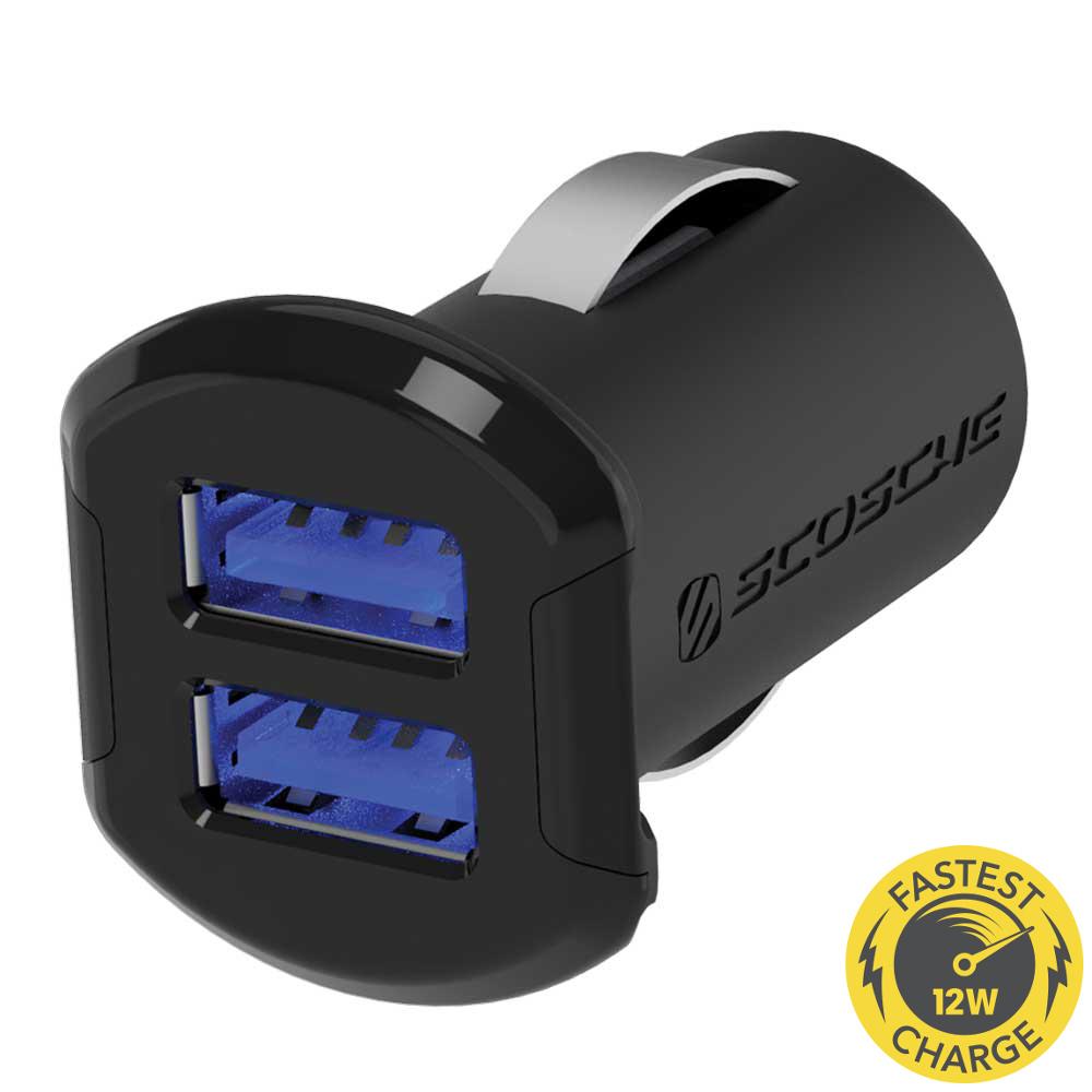 Scosche reVOLT - Dual USB lader til bil Indvendig tilbehør > Mobil tilbehør