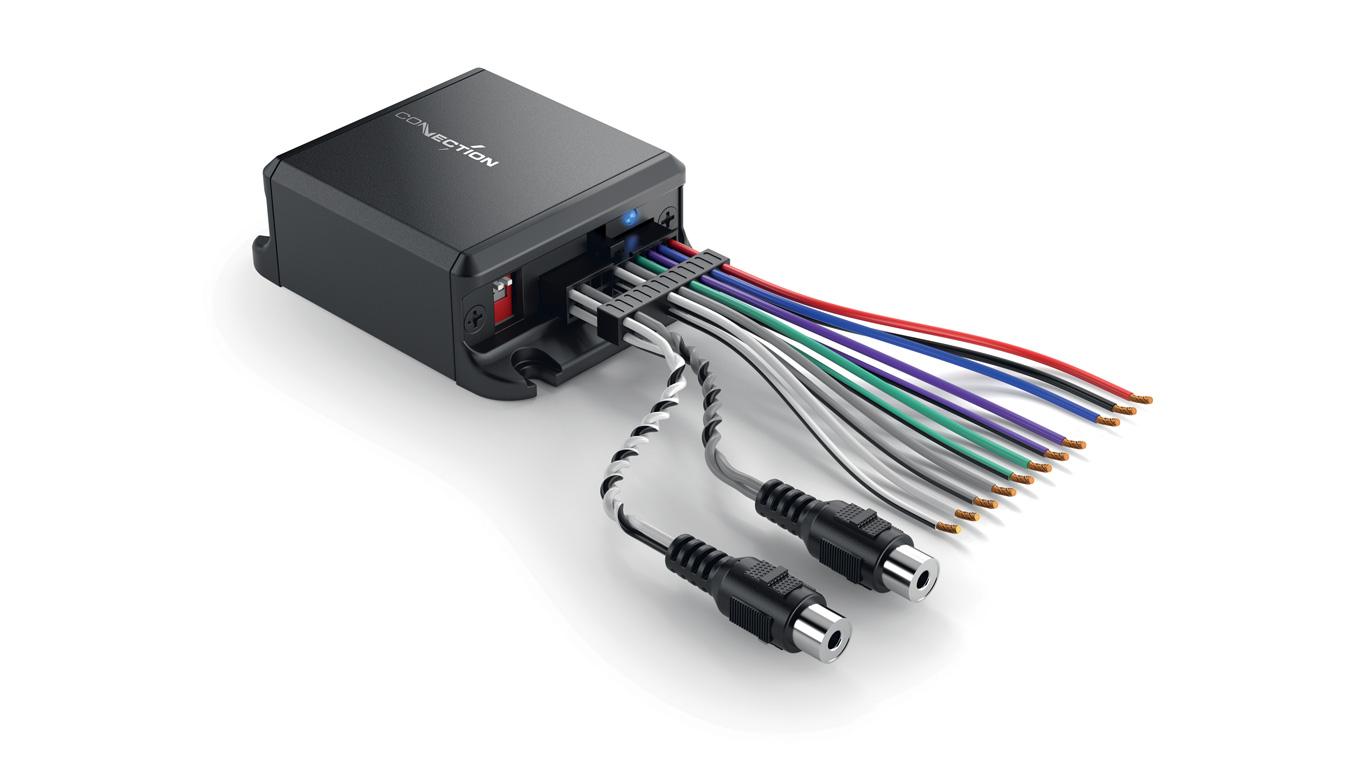 Connection SLI 2.2 High level interface 2 kanaler Bilstereo