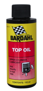 Bardahl Top Olie Ventilsmøring 110 ml. Olie & Kemi > Additiver