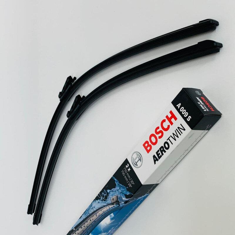 A009S Bosch AeroTwin Vinduesvisker / Viskerblade sæt på 75+70cm passer til Ford Connect fra årg. 05/2013 og frem Bosch Vinduesvisker / Viskeblade & Bagrudeviskere