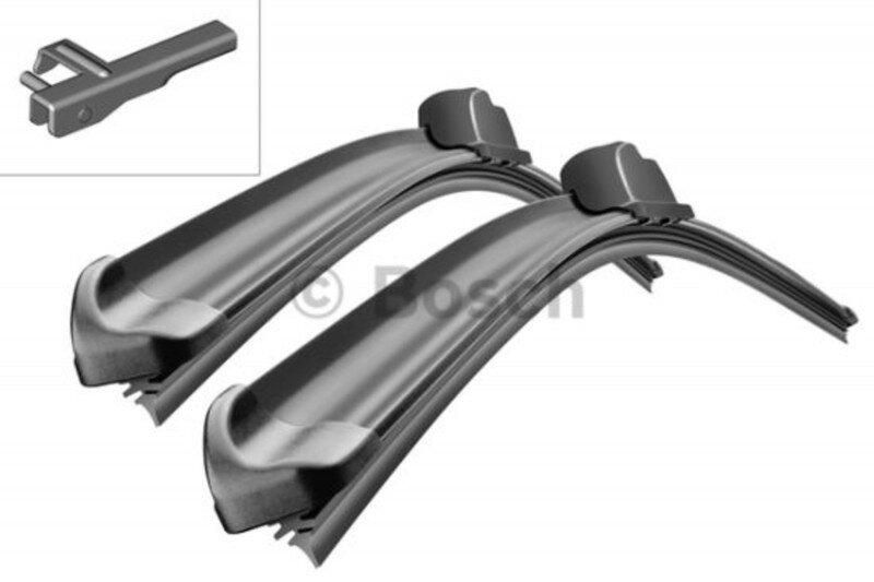 A946S Bosch AeroTwin Vinduesvisker / Viskerblade sæt på 68+68cm passer til Mercedes-Benz serie CL og S fra årg. 2000➜ frem Bosch Vinduesvisker / Viskeblade & Bagrudeviskere