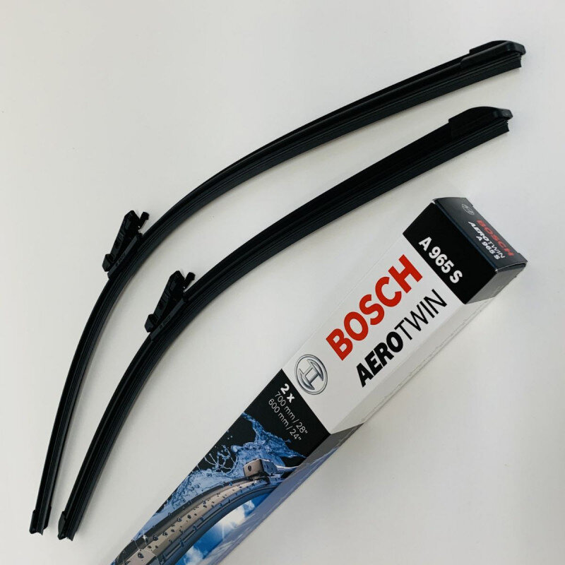 A965S Bosch AeroTwin Vinduesvisker / viskerblade sæt på 70+60cm til Opel Astra K m.fl. Bosch Vinduesvisker / Viskeblade & Bagrudeviskere