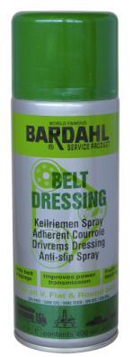 Bardahl Belt Dressing (Remspray mod hylende rem) 400 ml. Olie & Kemi > Smøremidler