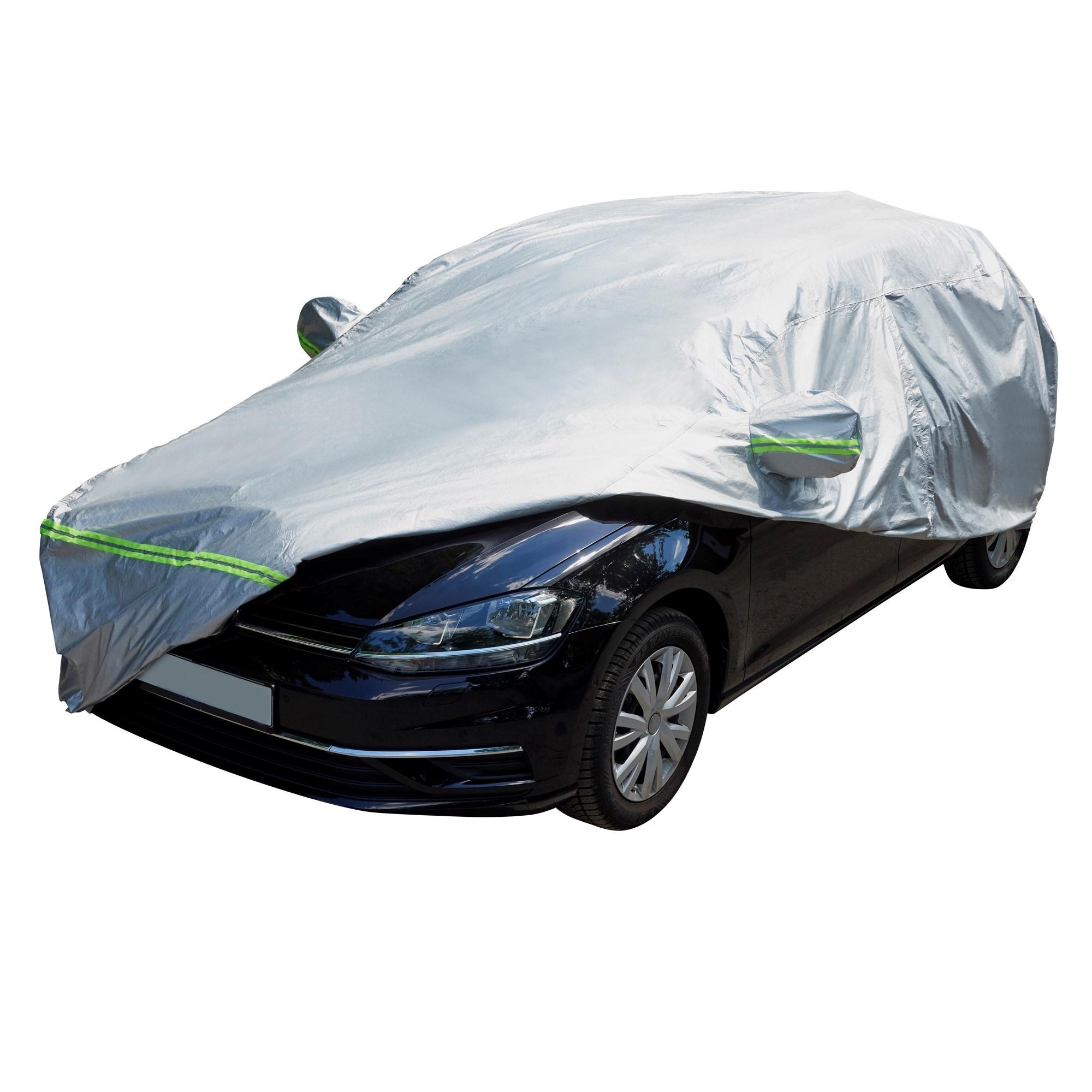 Helgarage til bil Str. M - Mål: L500xB190xH150 cm Udvendig tilbehør