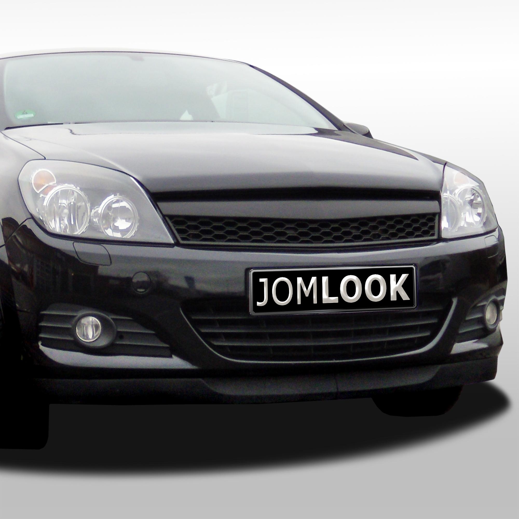 JOM Frontgrill sports look sort til Opel Astra H 3 dørsÅrgang 2005-2007 - uden logo Styling