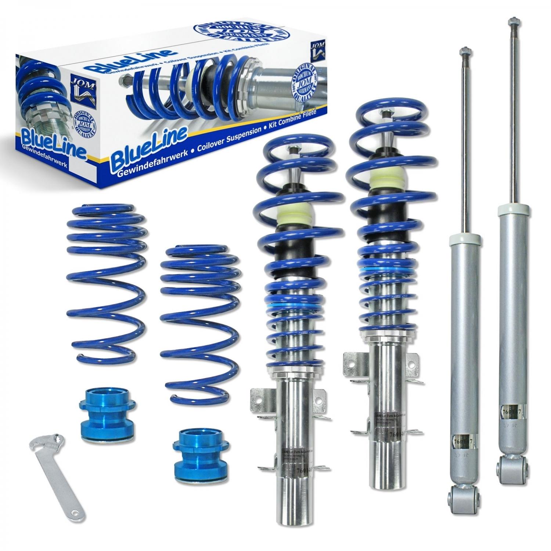 Blue Line - Gevindundervogn til Seat Ibiza/Cordoba (6L) Styling > Gevindundervogn > Seat > Cordoba
