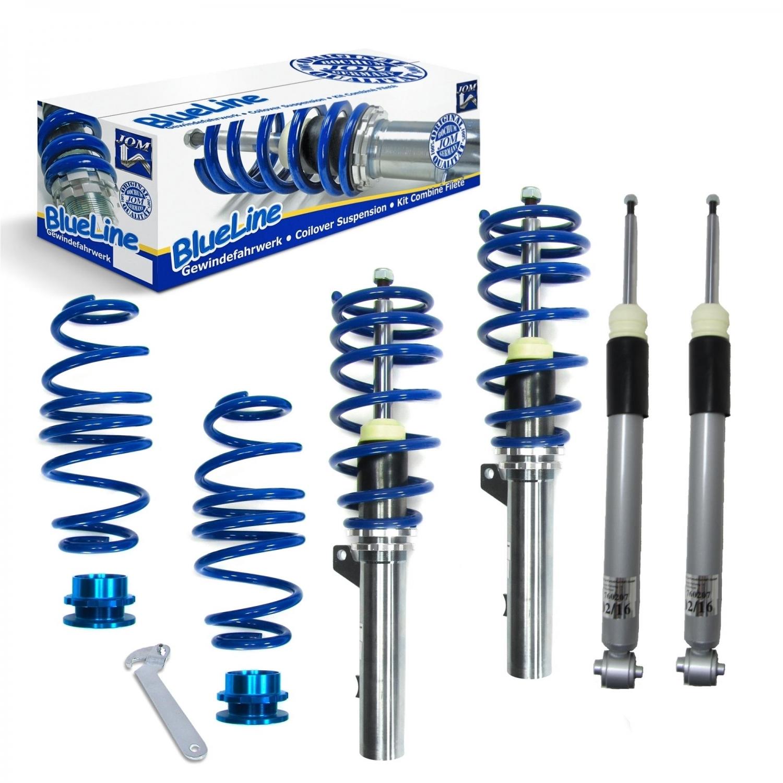 Blue Line - Gevindundervogn til Audi A3 Sportback / sedan - Årgang 2012- Styling > Gevindundervogn > Audi > A3