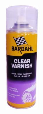 Bardahl Klar Lak - 400 ml. Olie & Kemi > Spray