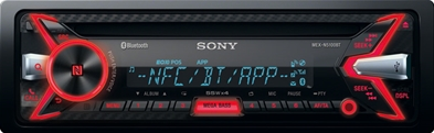 SONY autoradio MEXN5100BT med bluetooth
